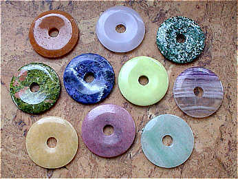 Donuts (5,0cm) - Bunte Mischung (10er-Pack!!!)