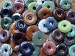 Donut (3,0cm) - Bunte Mischung (50er-Pack!)