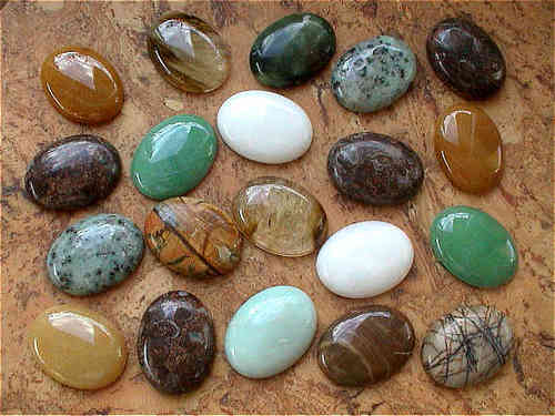 "Cabochons oval ""XL"" - Bunte Mischung (20er-Pack!)"