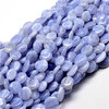 "Strangware - Ovale Nuggets 8-13 x 8-13mm - Chalcedon ""Blue Lace"""
